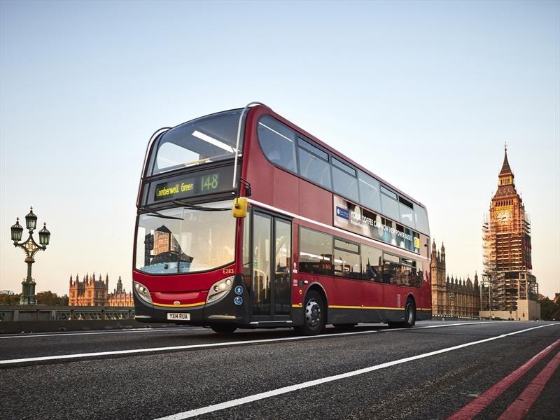 Transporte en Londres es impulsados por desechos de café