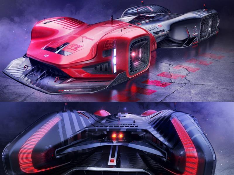 Honda CyberRace 2088 es el auto de carreras del futuro