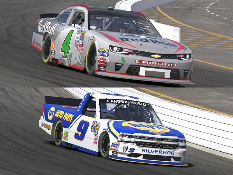 Las diferencias entre un Chevrolet Camaro y una Silverado de NASCAR