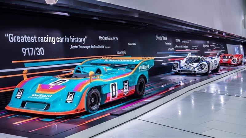 Museo Porsche celebra el 50 aniversario del mítico 917