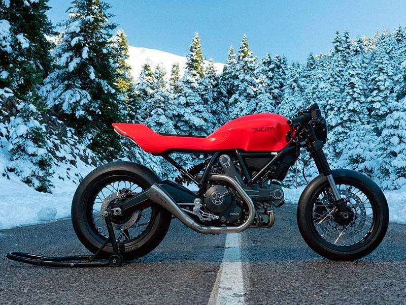 Jigsaw Customs Ducati Scrambler, simplemente impecable