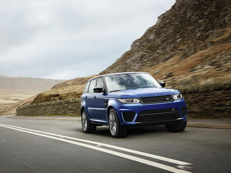Land Rover Range Rover Sport SVR 2015 se presenta