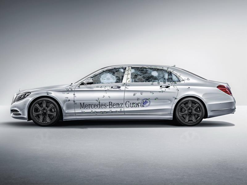 Mercedes-Maybach S 600 Guard, el auto más seguro de mundo