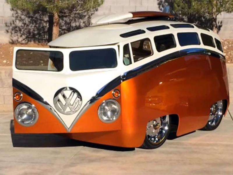 Conoce la Volkswagen Combi amorfa - Autocosmos.com