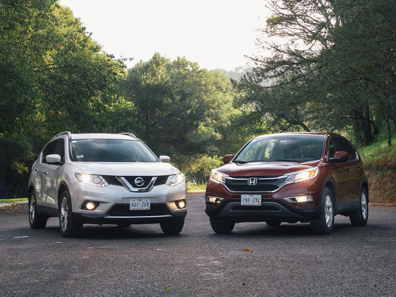 Comparativa: Honda CR-V vs Nissan X-Trail 2015