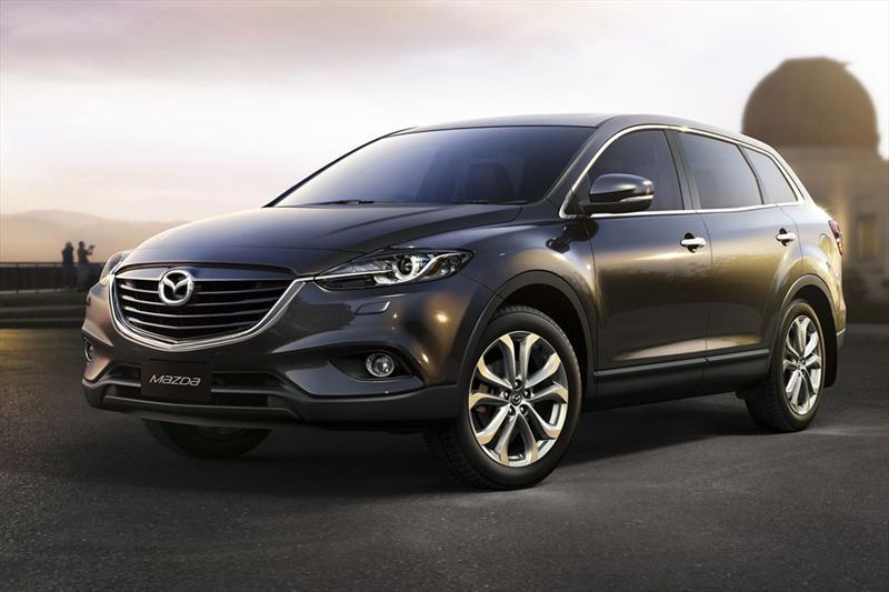 Mazda CX-9 2013, primeras imágenes