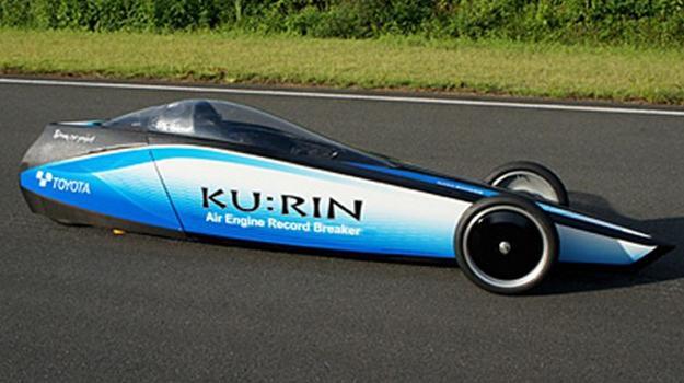 Toyota Ku:Rin, el auto más rápido impulsado por aire comprimido