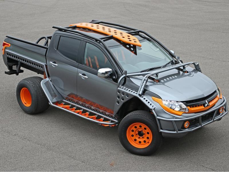 Esta es la Mitsubishi L200 en Fast & Furious Live