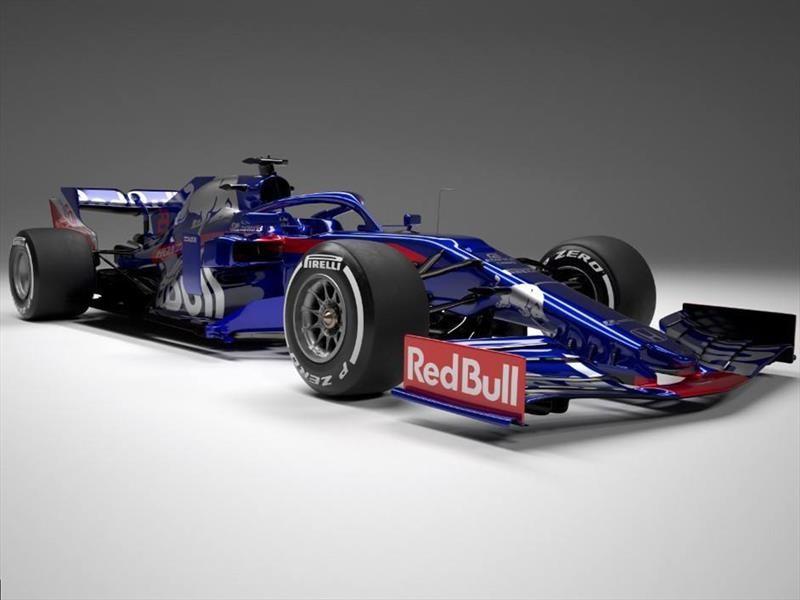 F1 2019: Toro Rosso presentó su monoplaza para la temporada