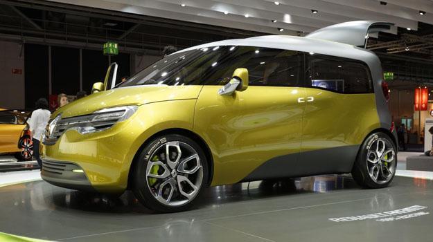 Renault Frendzy Concept debuta en el Salón de Frankfurt 2011