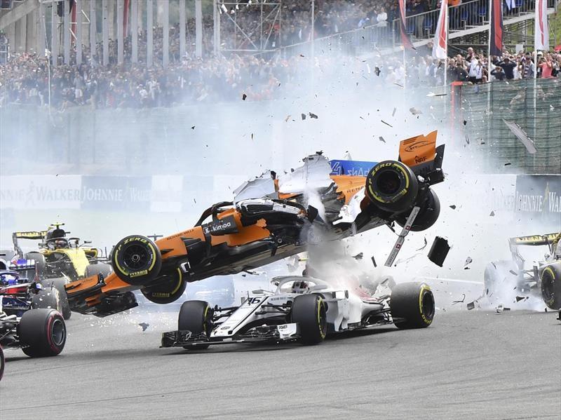 2018 F1: Halo tapa bocas en Spa-Francochamps