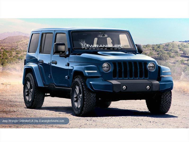 Así podría lucir la nueva generación del Jeep Wrangler - Autocosmos.com