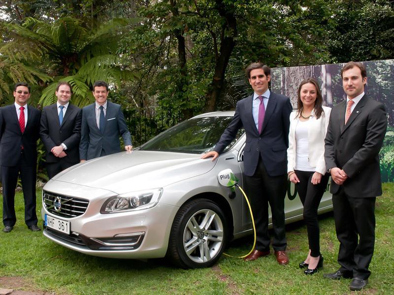 Volvo V60 Plug-In Hybrid, impulsando la tecnología verde por Colombia