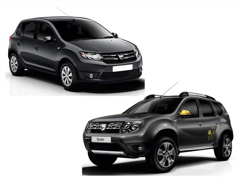 dacia duster blackstorm y sandero black touch se presentan. Black Bedroom Furniture Sets. Home Design Ideas