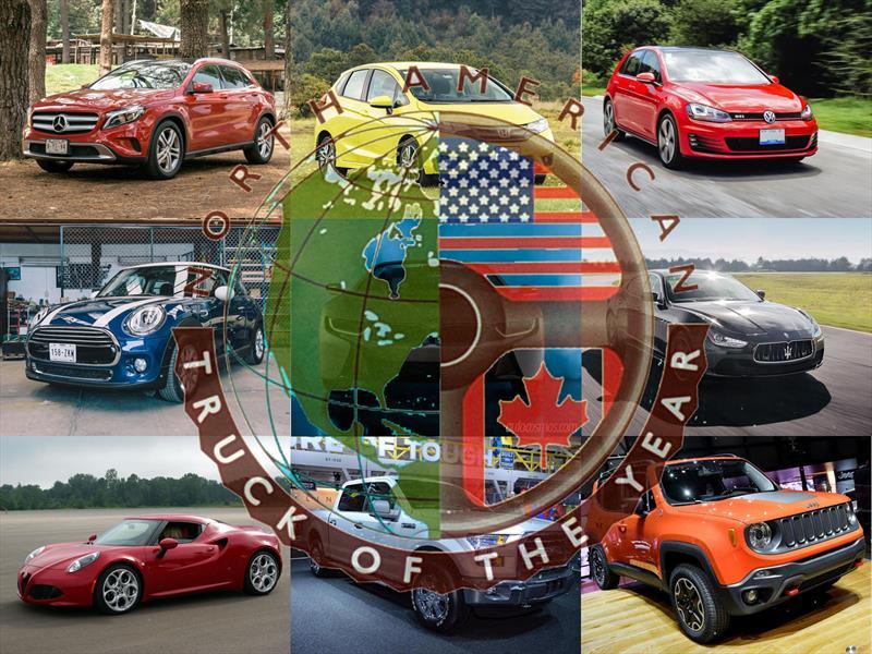 Esta es la lista para el Auto del Año 2015 de Norteamérica