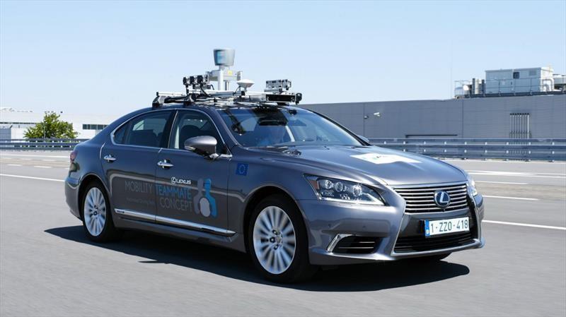 Toyota inicia pruebas de conducción autónoma en Europa
