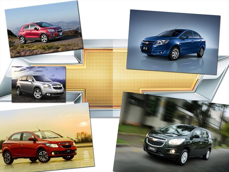 Chevrolet lleva a Detroit 5 modelos globales: Spin, Onix, Sail, Orlando y Trax
