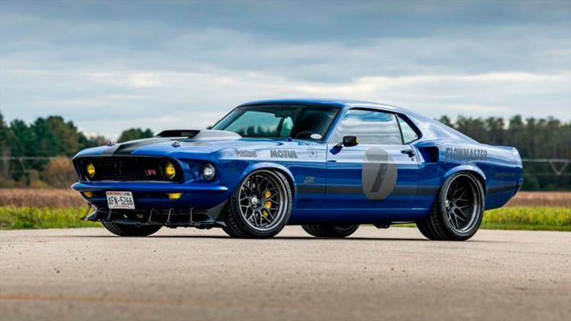 Ford Mustang Mach 1 por Ringbrothers, un súper auto clásico
