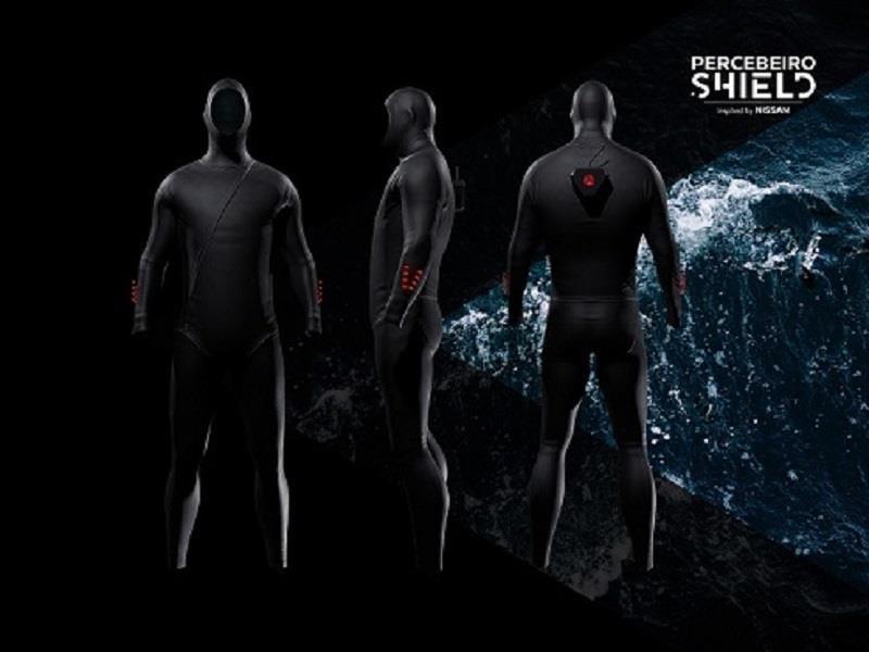 Percebeiro Shield, el traje de protección para pescadores que incorpora tecnología de Nissan