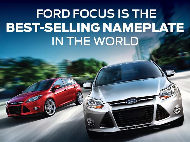Ford Focus es el auto más vendido del mundo - Autocosmos.com