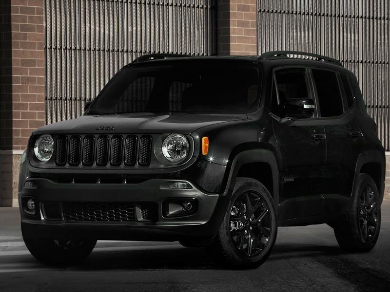 Fabuloso Auto Show de Los Ángeles 2016 - Jeep Renegade Altitud 2017, oscuro  ML14