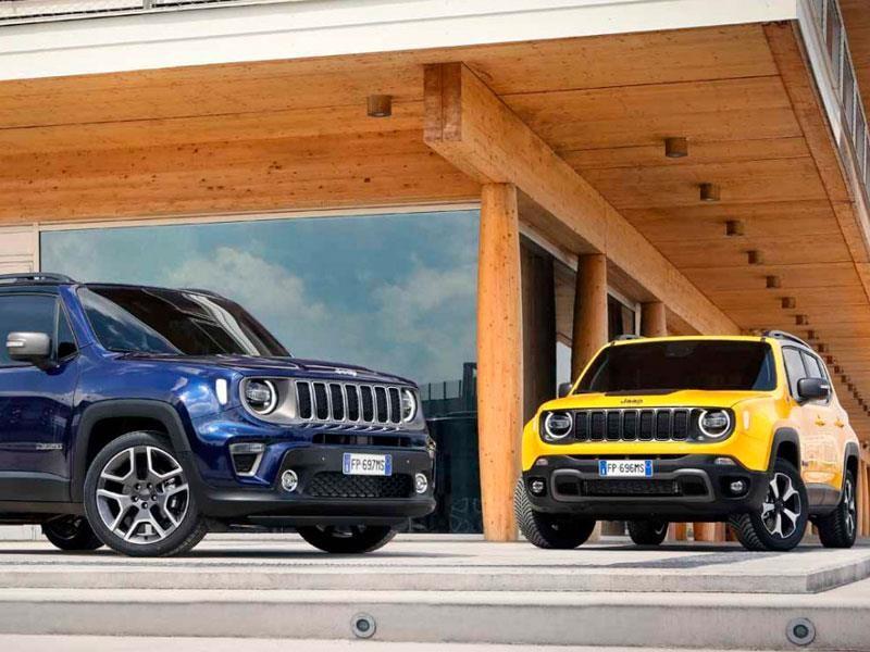 Jeep Renegade 2019 se renueva
