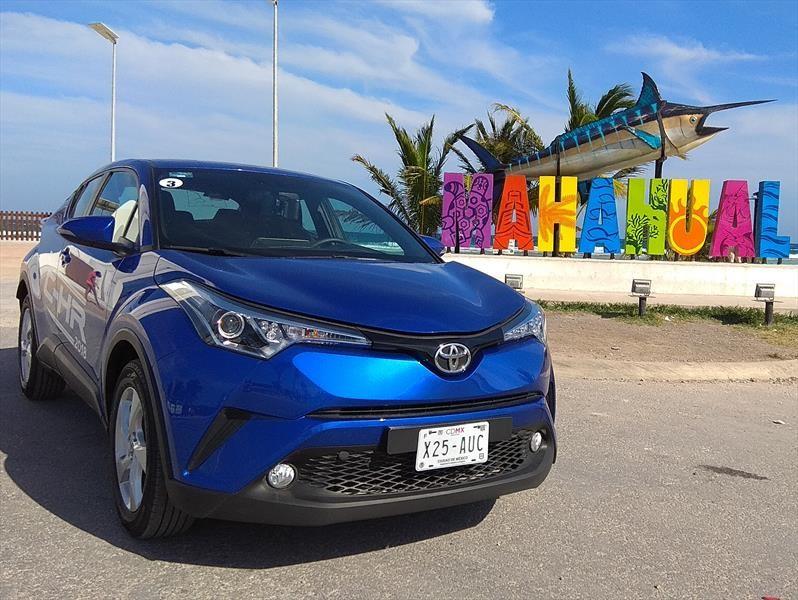Toyota C-HR 2018, primer contacto en México