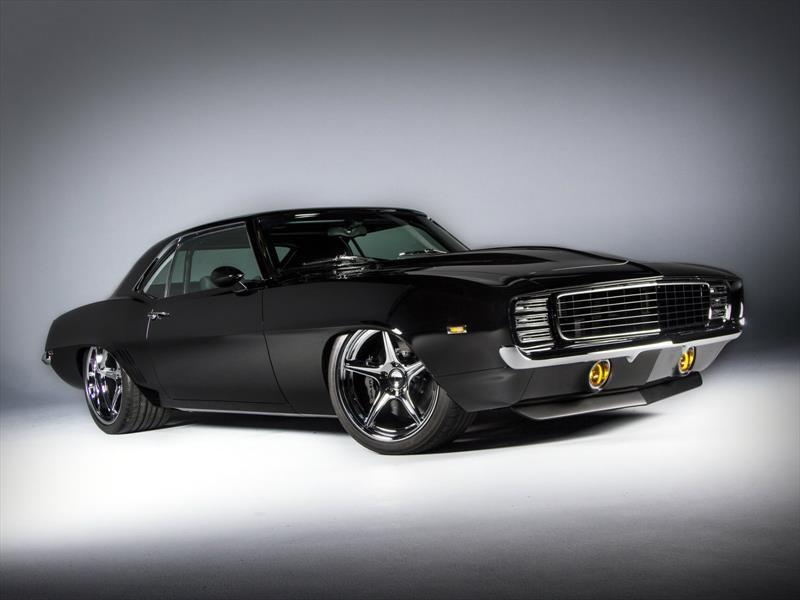 """Chevrolet Camaro """"Tux"""" de 1969, lo mejor del SEMA Show"""