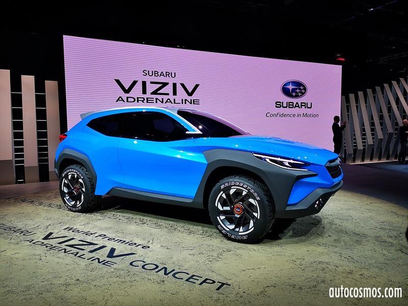 Subaru Viziv Adrenaline Concept anticipa un nuevo SUV