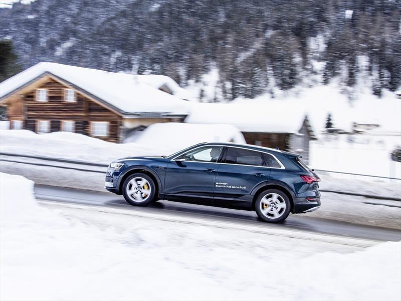 Audi e-tron, vehículo oficial  del Foro Económico Mundial