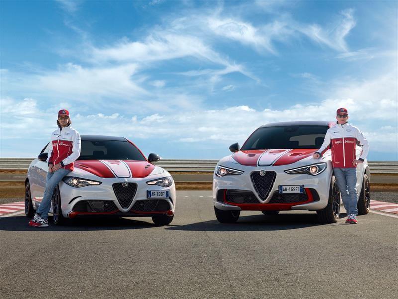 Alfa Romeo celebra su regreso a la Fórmula 1 con ediciones especiales del Giulia y Stelvio