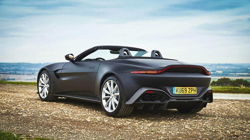 Aston Martin Vantage también estará disponible en versión convertible