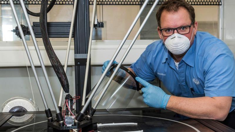 Cómo están ayudando las marcas de Volkswagen Group a luchar contra el coronavirus