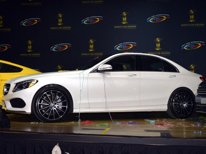 Mercedes-Benz Clase C es nombrado World Car of the Year 2015