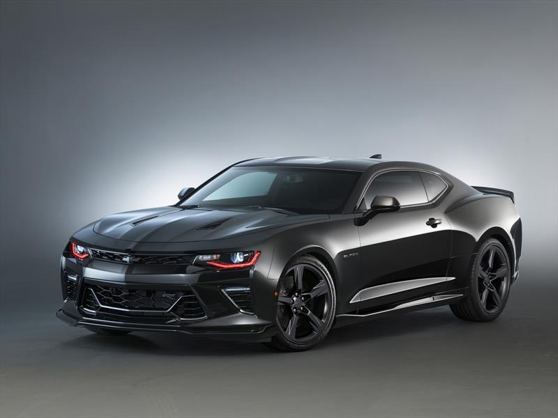 Chevrolet Camaro Black Concept El Lado Oscuro De La