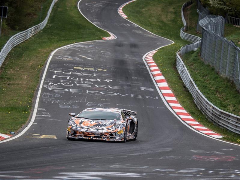 Lamborghini Aventador SVJ tiene el trono de Nurburgring