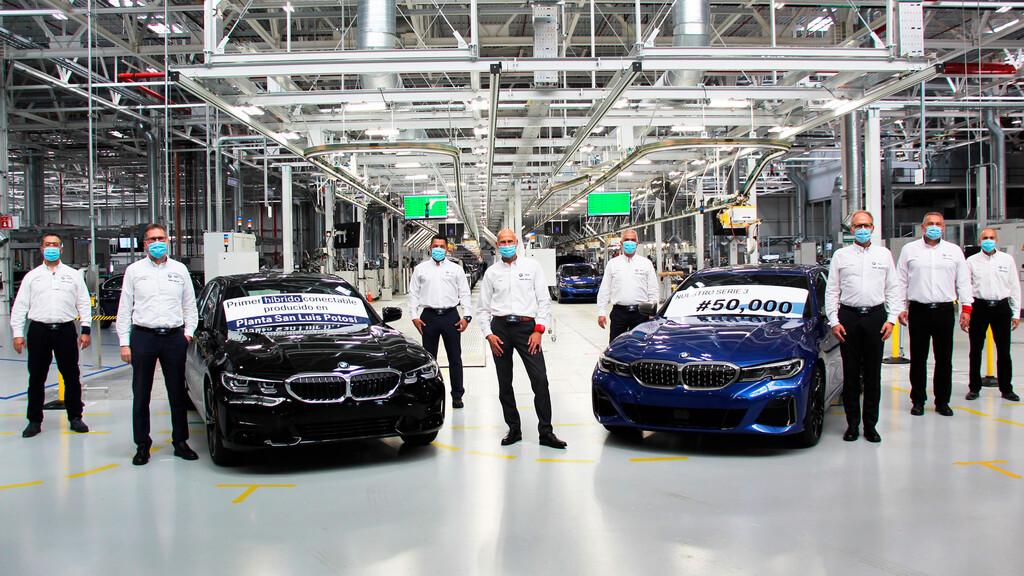 BMW Serie 3 llega a 50 mil unidades producidas en México, inicia a ...
