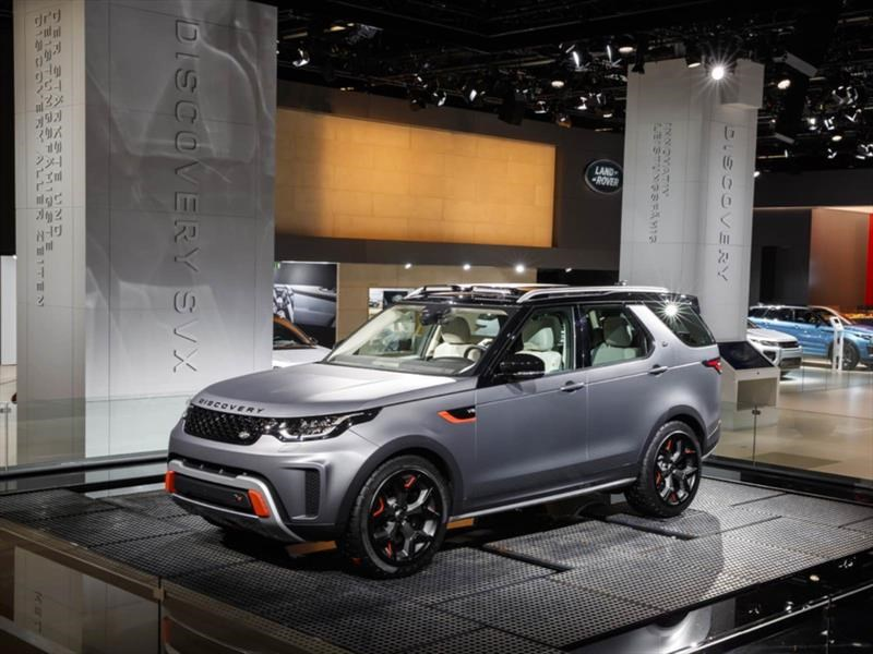 Land Rover Discovery SVX: el hermano aventurero