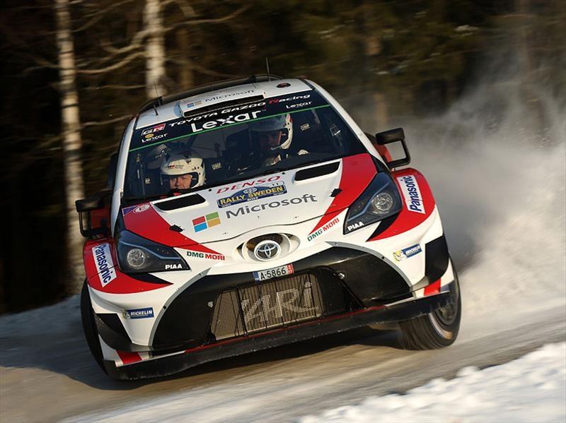 2017 WRC: Toyota gana en Suecia, su primera victoria desde 1999