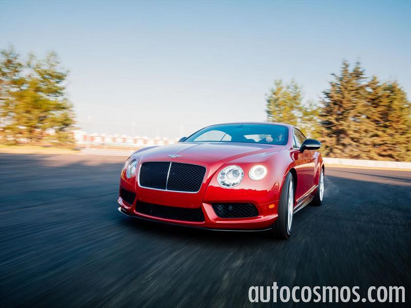 Bentley Continental GT V8S 2015 a prueba