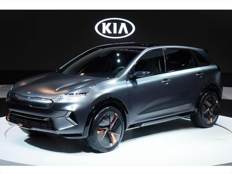 KIA Niro EV Concept, preludio de una versión 100% eléctrica
