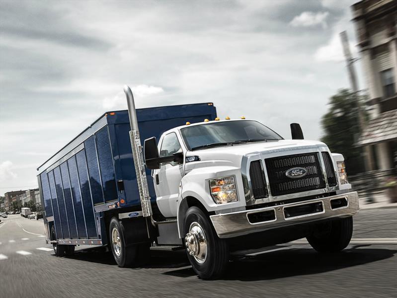 Ford F 650 Y F 750 2017 Camiones Para El Trabajo Duro