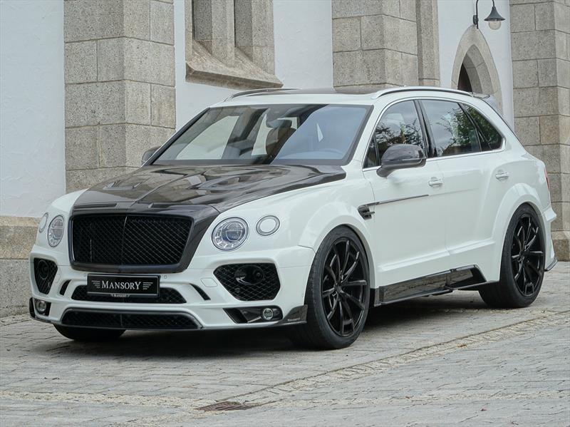 Bentley Bentayga por Mansory, más potencia para el rey