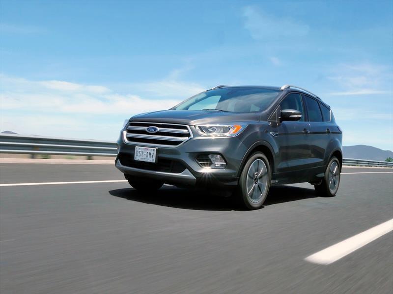 Ford Escape 2017 a prueba