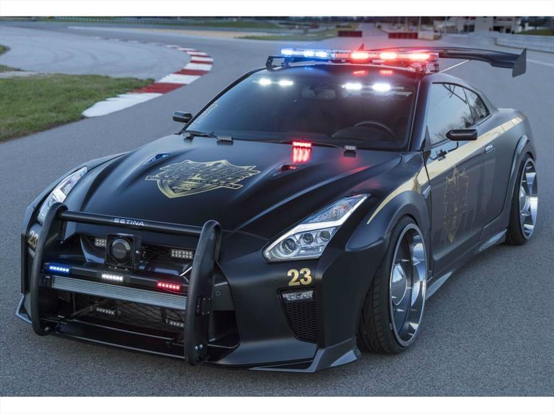 Nissan GT-R Copzilla, que se cuiden los malos