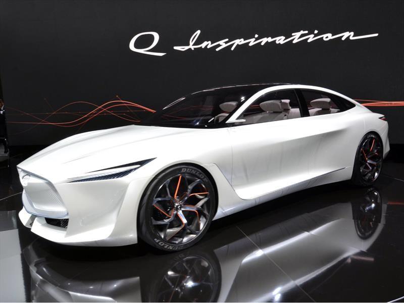 Infiniti Q Inspiration Concept es el mejor concepto del Auto Show de Detroit 2018