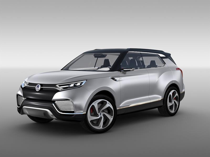 SsangYong XLV Concept debuta