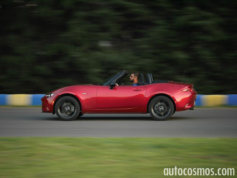 Probamos el Mazda MX-5 2016 en pista