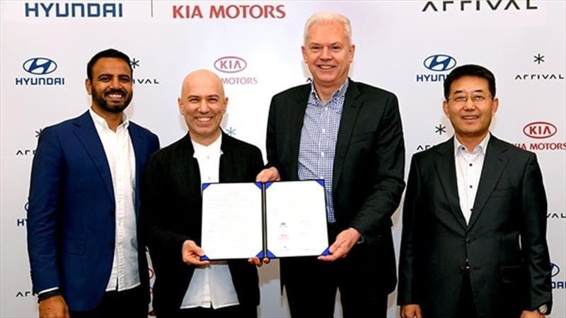 Hyundai y Kia venderán vehículos comerciales eléctricos