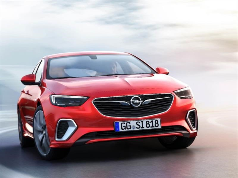 Opel Insignia GSi 2018 retoma las míticas siglas